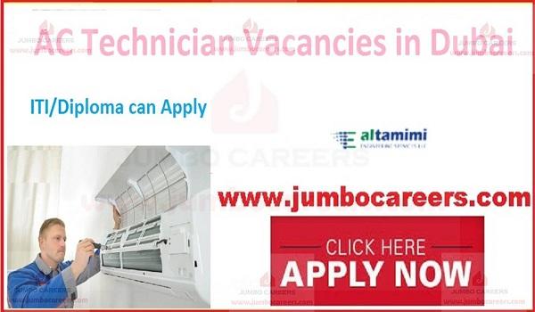 AC Technician Jobs in Dubai UAE