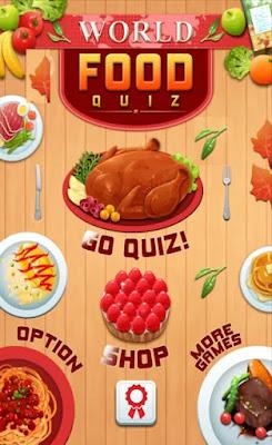 Screenshot World Food Quiz - Apcoid