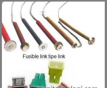Perbedaan Fusible Link dan Fuse serta Rumus Cara Menghitung Kapasitas Sekring/Fuse