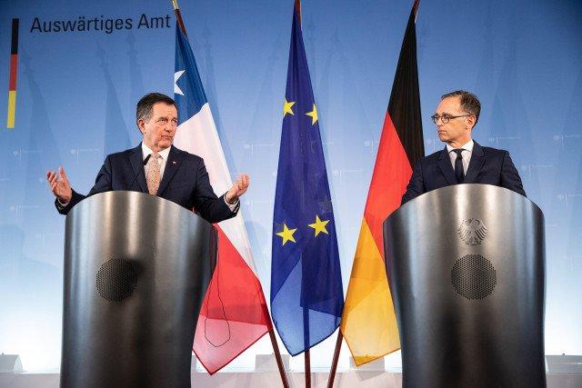 Alemania y Chile advierten sobre la situación en Nicaragua y Venezuela