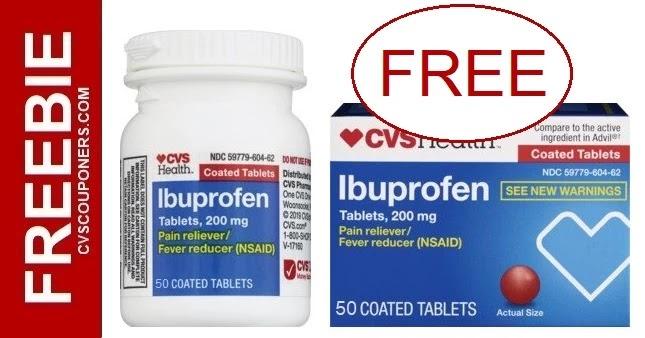 FREE CVS Health Ibuprofen this Week