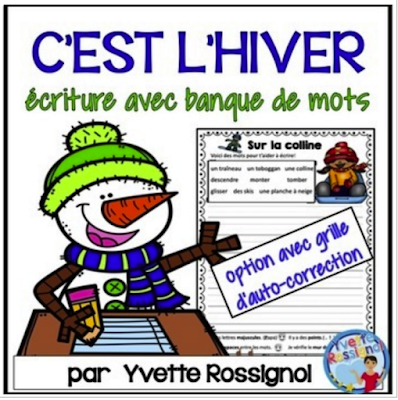 https://www.teacherspayteachers.com/Product/FRENCH-WINTER-WRITING-PROMPTS-with-word-bank-and-self-check-rubric-2972322