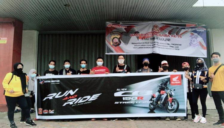 Astra Motor Kalbar Bersama HWBC Mengadakan Event Run and Ride