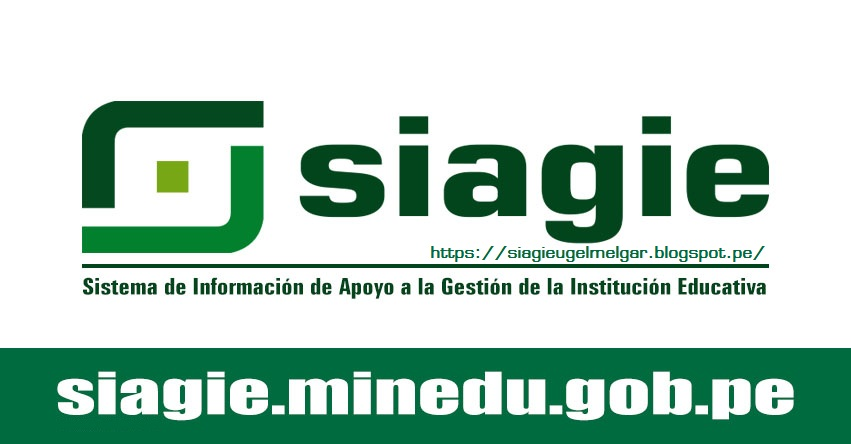 ACCEDER A SIAGIE - MINEDU