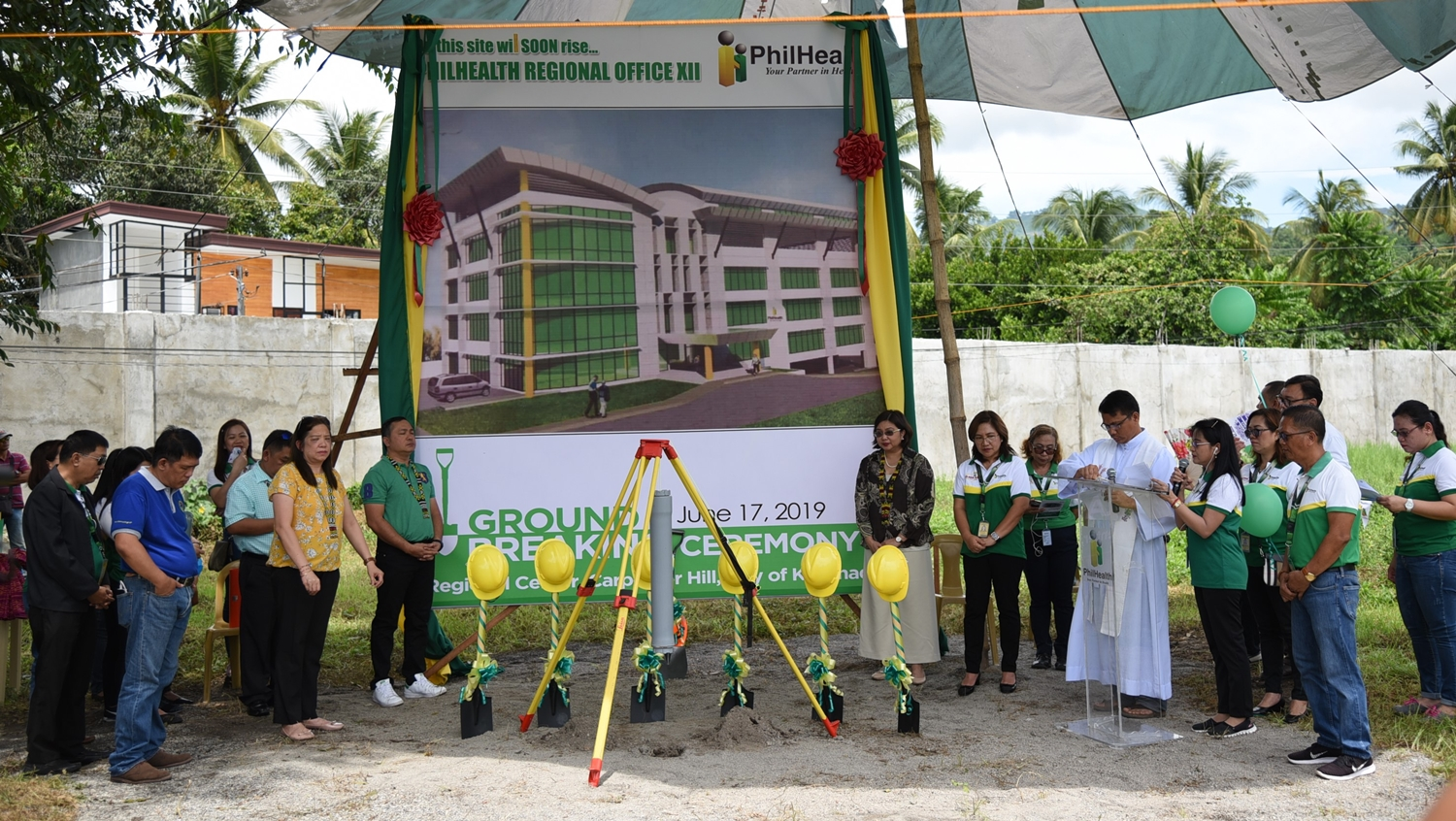 Groundbreaking Ceremony for PhilHealth Regional Office XII held