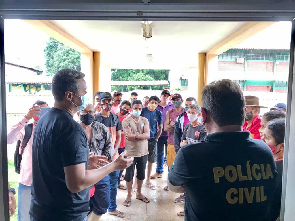 Delegado inicia investigação de supostos crimes agrários na zona rural em Alenquer