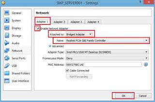Gambar 2 Instalasi Jaringan Server CBTUN