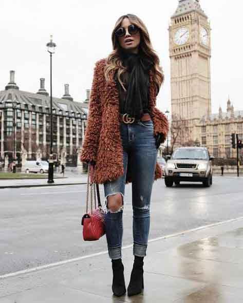10 looks com casaco de pelo