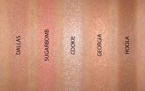 Palette Joues Cheek Stars Reunion Tour Benefit Swatch