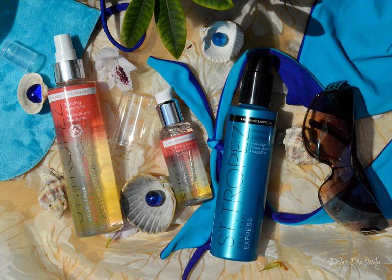 Kosmetyki St.Tropez - naturalna opalenizna z tubki recenzja