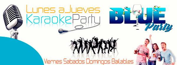 Discoteca Karaoke Blue Party