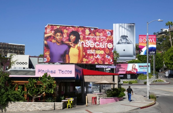 Insecure season 3 HBO billboard