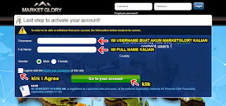 halaman register marketglory