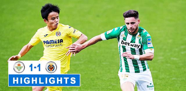 Real Betis vs Villarreal – Highlights