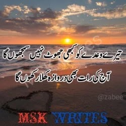 Bewafa Dost Poetry In Urdu