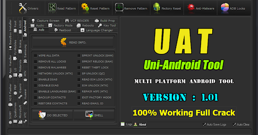 Uni-Android Tool V1.01 (U.A.T) [Full Crack by Gsm_X_Team]
