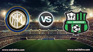 مشاهدة مباراة انتر ميلان وساسولو US Sassuolo Calcio vs Internazionale Milano بث مباشر بتاريخ 23-12-2017 الدوري الايطالي