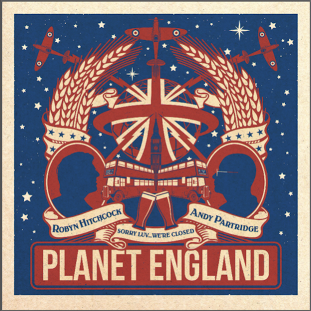 Robyn Hitchcock & Andy Partridge - Planet England (EP) (2019)