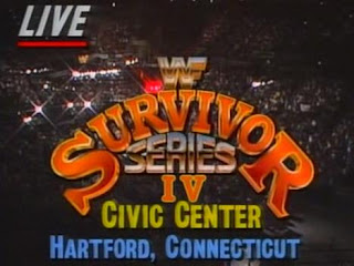 WWF (WWE) SURVIVOR SERIES 1990 - Live from Connecticut