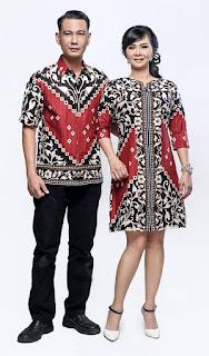 Jual Model Baju Batik Solo Couple Keluarga Agatha Pola