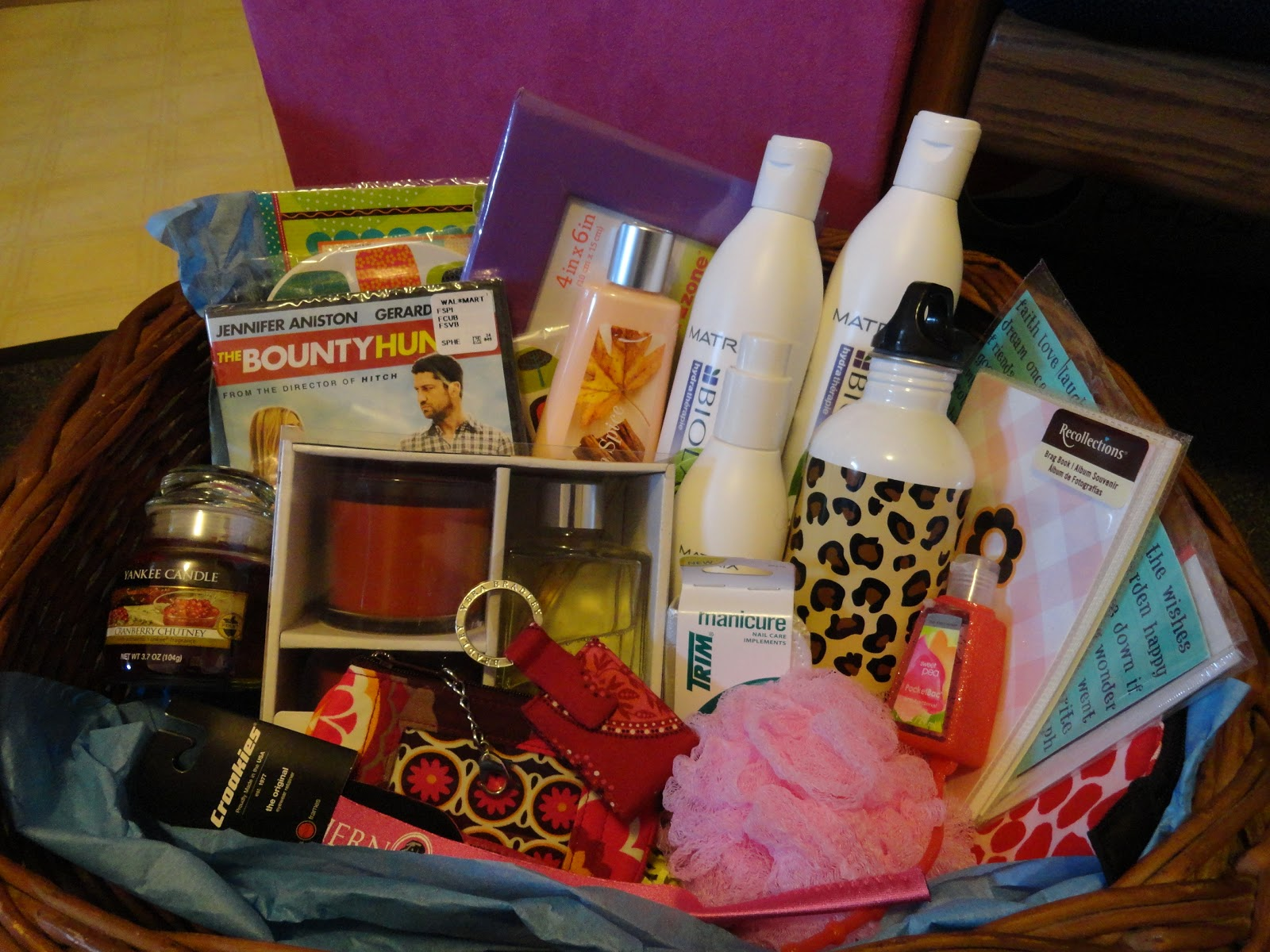 Themes For Gift Baskets: Grow And Enjoy: Fundraising Raffle Baskets