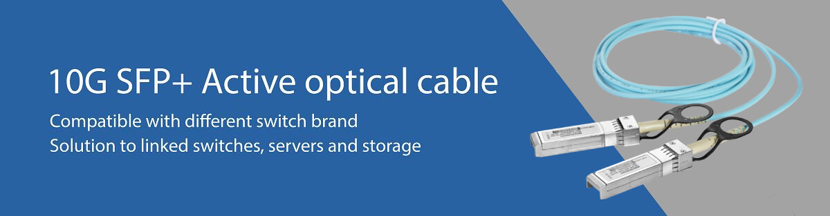 Macroreer 10G SFP+ Active Optical Cables (AOCs)