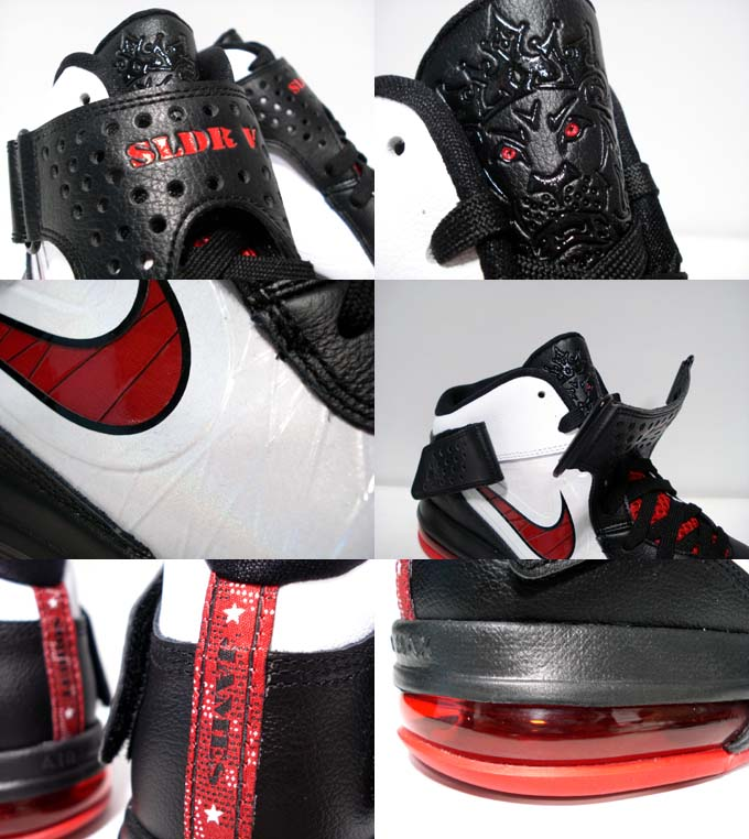 5e1791486895 THE SNEAKER ADDICT  Nike Air Max LeBron Soldier V White Sport Red ...