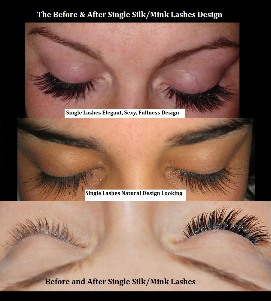 Mink lashes before and after - Yelp