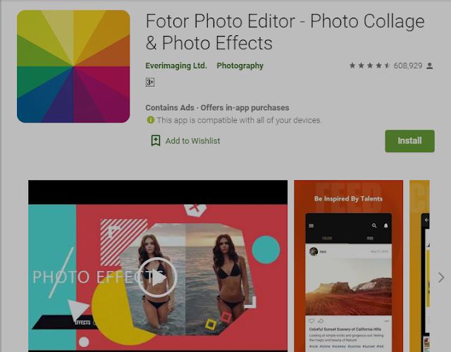 5+ Aplikasi Editor Foto (Gratis & Berbayar) Untuk Android  1