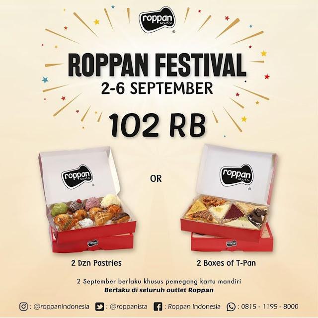#JCO - #Promo Roppan Festival 2 Lusin Pastries atau T-Pan Hanya 102K (s.d 06 Sept 2019)