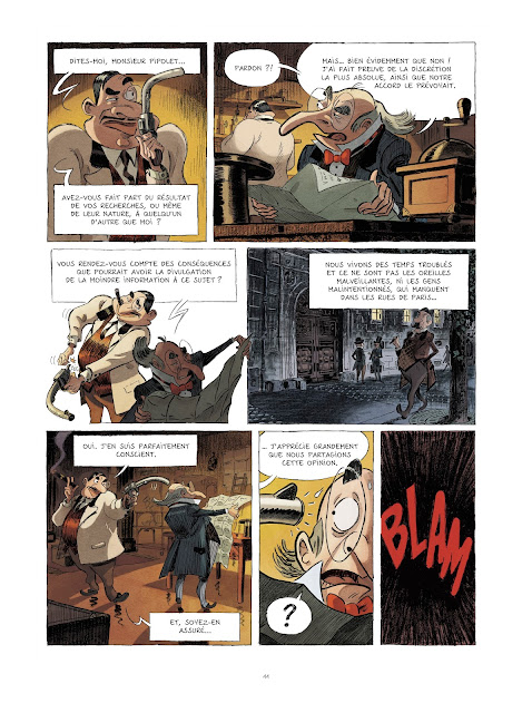 Planche 11 de Les Spectaculaires Tome 1 Rue de Sèvres