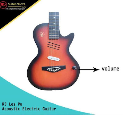 RJ Les Pu Acoustic Electric Guitar
