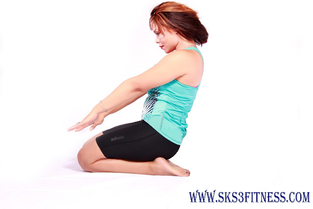 Yoga Meditation Poses Vajrasana