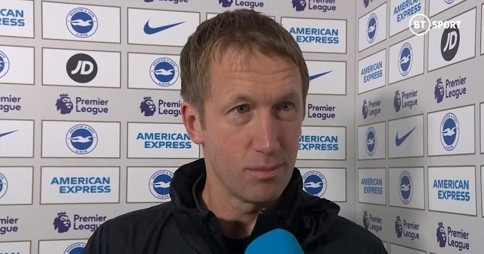 Brighton boss previews Chelsea clash: We expect them to be a strong again.