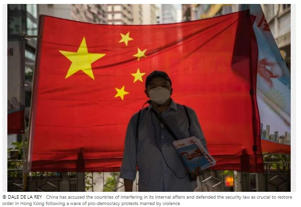 China halts HK extradition treaties with Canada, Australia, UK China introduced the