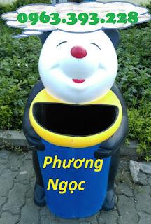 Thùng rác hình con vật, thùng rác công viên, thùng rác hình chim cánh cụt, thùng 26e4a5f1f8c0b72d7173d4797a192719