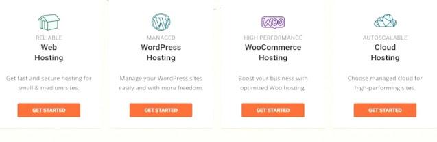 manage cloud hosting and wordpress hosting of siteground