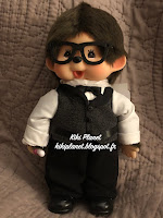 Monchhichi Be Your Servent Butler Boy 259229