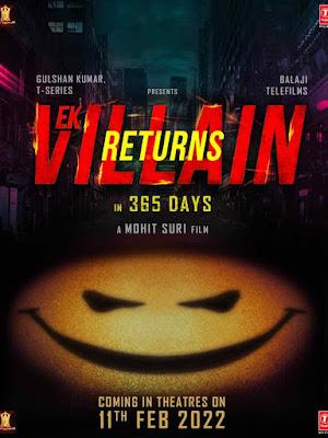 Ek Villain Returs Star Cast Name, Wiki