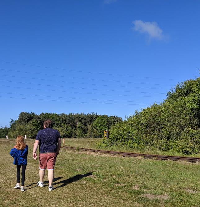 Queen Elizabeth II Country Park Walk railway
