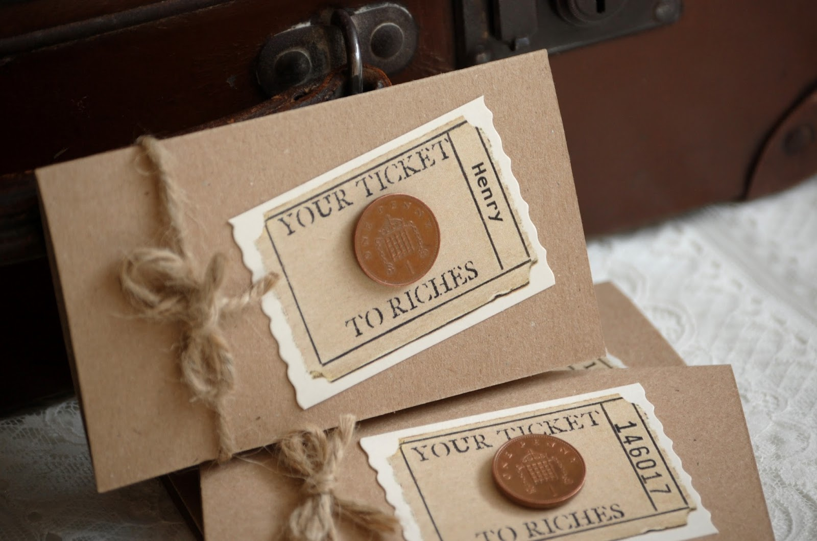 Vintage Twee: Your Ticket (well, your guest's) to Riches