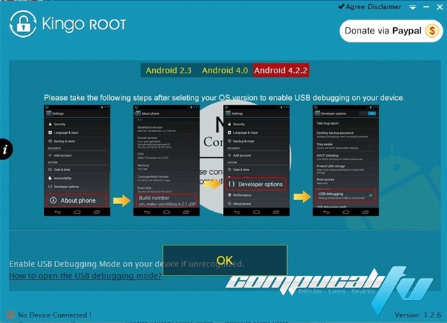 Kingo Android Root 1.2