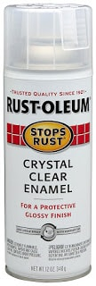 Rust-Oleum Crystal Clear Enamel Spray Sealer to seal painted rocks #ILovePaintedRocks