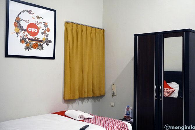 Kamar penginapan ala OYO Garden Hotel Jogja