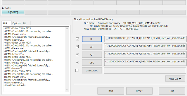 Samsung J7 Nxt SM-J701F Flash File Download, J7 nxt 4 Files Stock Rom