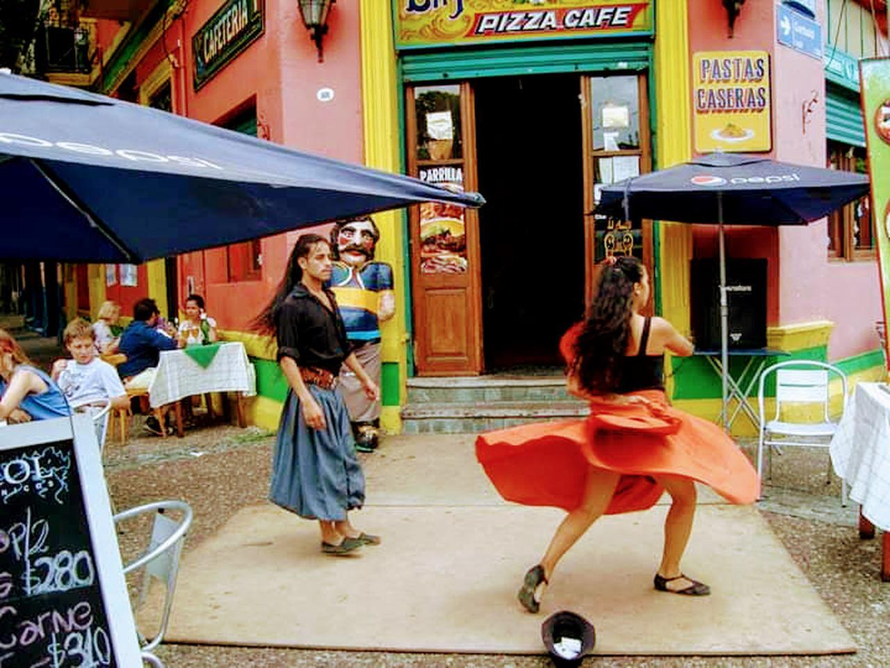 Tango pelas ruas de Buenos Aires