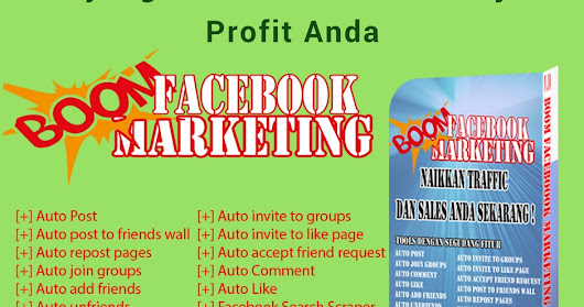 Tools BOOM FACEBOOK MARKETING
