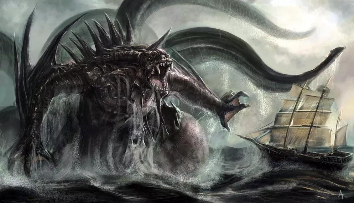 Το θαλάσσιο τέρας που τρομοκρατούσε την Κων/πόλη το 500 μ.Χ