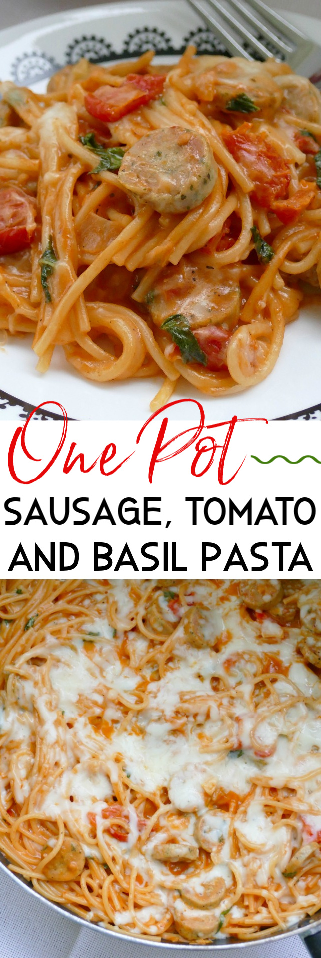 This easy dinner idea is ready in 30 minutes and is made in one pot! So simple, affordable and delicious! Great for busy weeknights and the leftovers are perfect for lunch the next day!