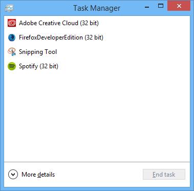 Tắt ứng dụng khởi động cùng Windows bằng Task Manager